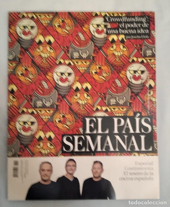 EL PAÍS SEMANAL. NÚMERO 2095 (Coleccionismo - Revistas y Periódicos Modernos (a partir de 1.940) - Periódico El Páis)