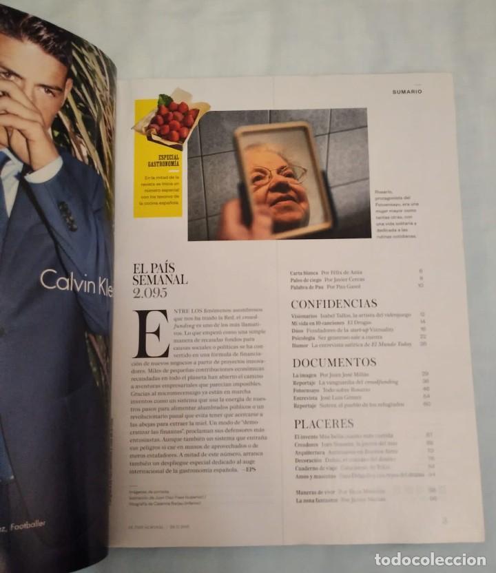 Coleccionismo de Periódico El País: El país semanal. Número 2095 - Foto 3 - 227618985