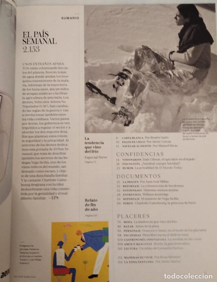 Coleccionismo de Periódico El País: El País semanal. Número 2153 - Foto 2 - 227687675