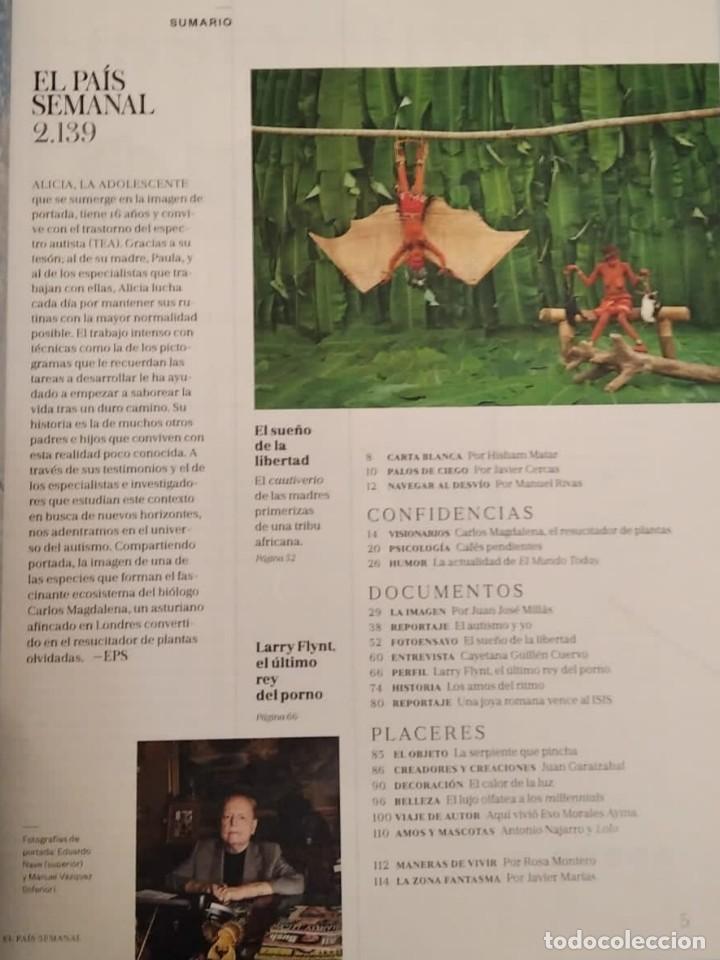 Coleccionismo de Periódico El País: El País semanal. Número 2139 - Foto 2 - 227689110