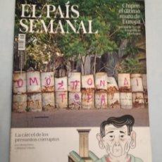 Coleccionismo de Periódico El País: EL PAÍS SEMANAL. NÚMERO 2135. Lote 227689535