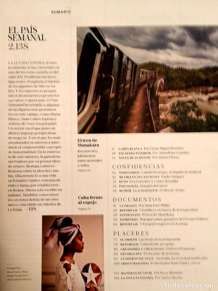 Coleccionismo de Periódico El País: El País semanal.Numero 2138 - Foto 3 - 227692549