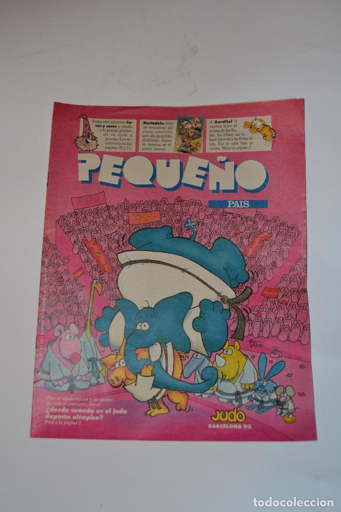 PEQUEÑO PAIS (Coleccionismo - Revistas y Periódicos Modernos (a partir de 1.940) - Periódico El Páis)