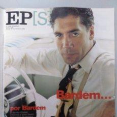 Coleccionismo de Periódico El País: EL PAÍS SEMANAL. PORTADA JAVIER BARDEM. 1999. Lote 236219575