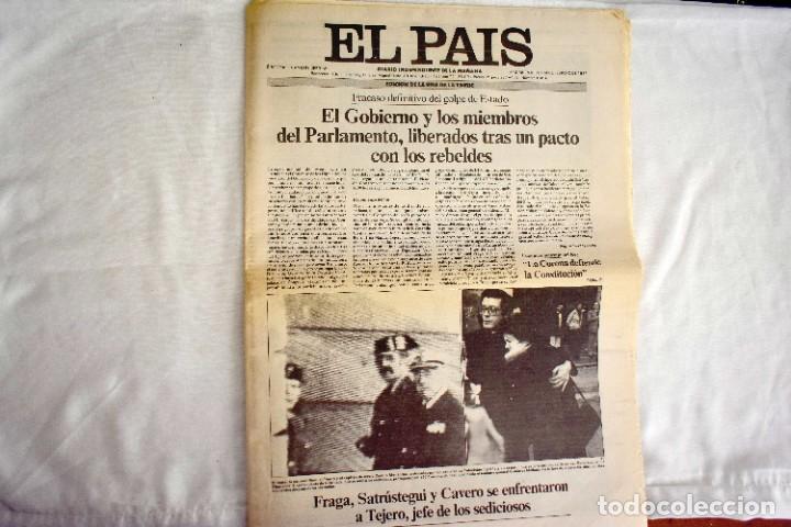 EL PAÍS - 23-F - EDICIÓN 1 DE LA TARDE (Coleccionismo - Revistas y Periódicos Modernos (a partir de 1.940) - Periódico El Páis)