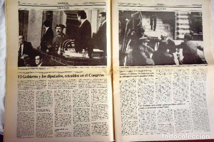 Coleccionismo de Periódico El País: EL PAÍS - 23-F - EDICIÓN 1 DE LA TARDE - Foto 3 - 243055080
