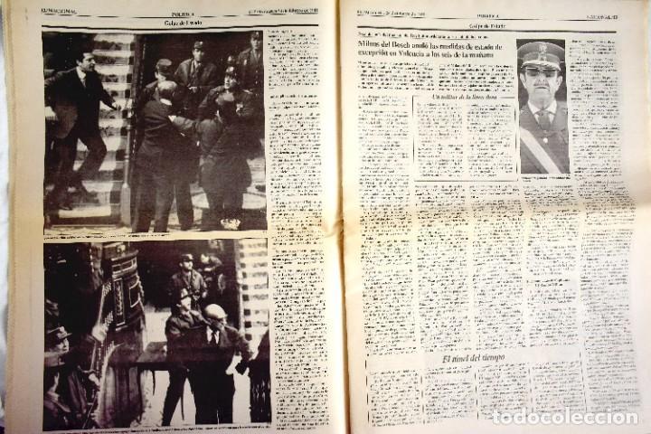 Coleccionismo de Periódico El País: EL PAÍS - 23-F - EDICIÓN 1 DE LA TARDE - Foto 4 - 243055080