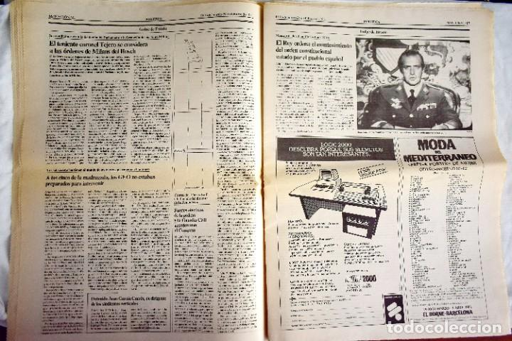 Coleccionismo de Periódico El País: EL PAÍS - 23-F - EDICIÓN 1 DE LA TARDE - Foto 5 - 243055080