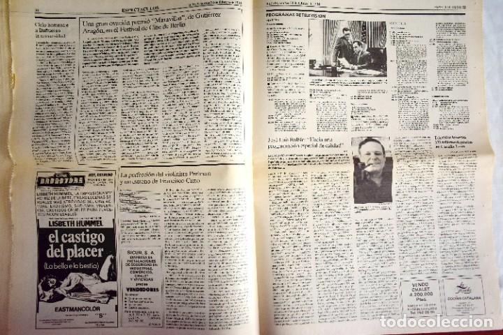 Coleccionismo de Periódico El País: EL PAÍS - 23-F - EDICIÓN 1 DE LA TARDE - Foto 6 - 243055080