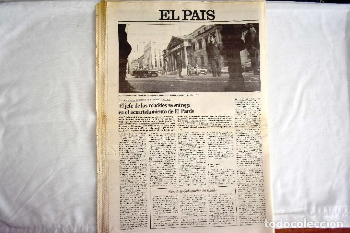 Coleccionismo de Periódico El País: EL PAÍS - 23-F - EDICIÓN 1 DE LA TARDE - Foto 8 - 243055080