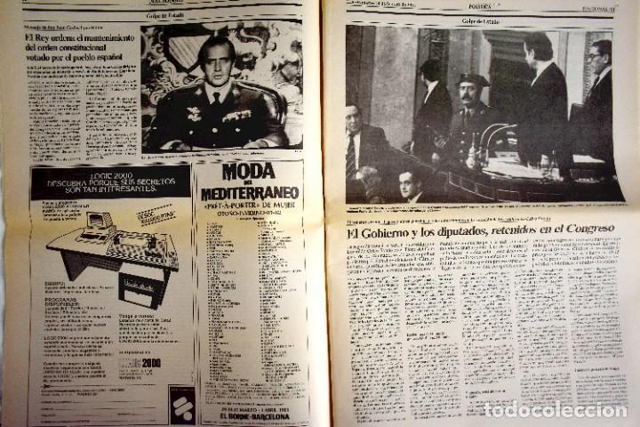 Coleccionismo de Periódico El País: EL PAÍS - 23-F - EDICIÓN DE LAS CUATRO DE LA MADRUGADA - Foto 4 - 243056690