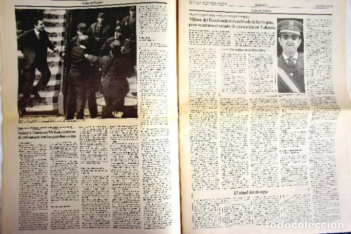 Coleccionismo de Periódico El País: EL PAÍS - 23-F - EDICIÓN DE LAS CUATRO DE LA MADRUGADA - Foto 5 - 243056690