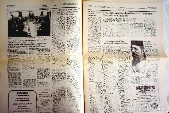 Coleccionismo de Periódico El País: EL PAÍS - 23-F - EDICIÓN DE LAS CUATRO DE LA MADRUGADA - Foto 6 - 243056690