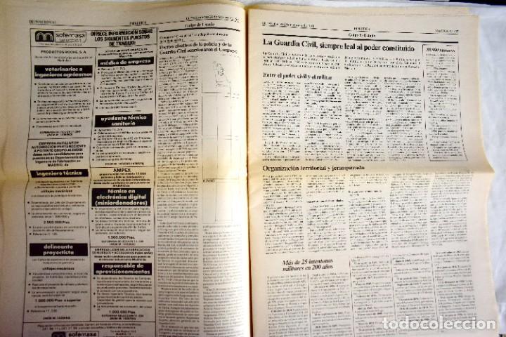 Coleccionismo de Periódico El País: EL PAÍS - 23-F - EDICIÓN DE LAS CUATRO DE LA MADRUGADA - Foto 7 - 243056690