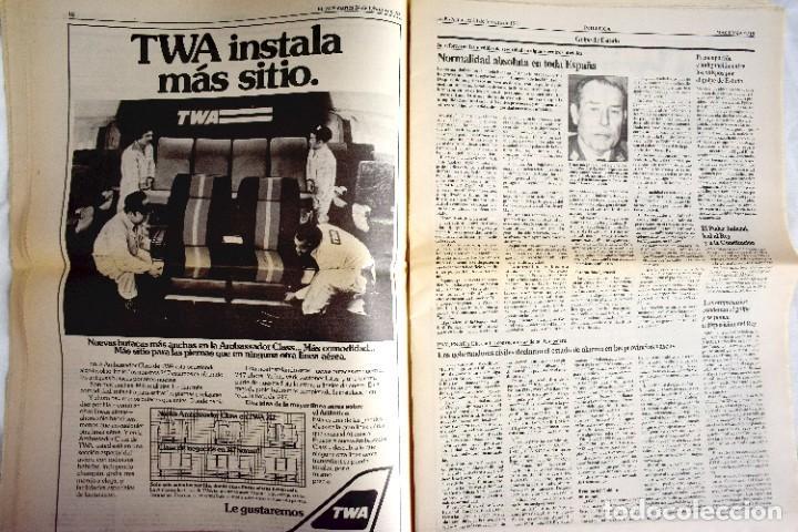 Coleccionismo de Periódico El País: EL PAÍS - 23-F - EDICIÓN DE LAS CUATRO DE LA MADRUGADA - Foto 8 - 243056690