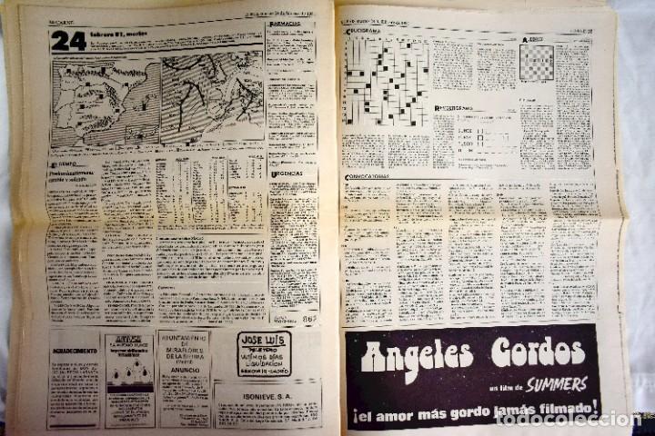 Coleccionismo de Periódico El País: EL PAÍS - 23-F - EDICIÓN DE LAS CUATRO DE LA MADRUGADA - Foto 11 - 243056690