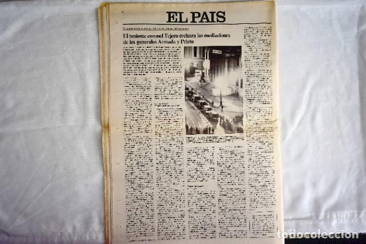 Coleccionismo de Periódico El País: EL PAÍS - 23-F - EDICIÓN DE LAS CUATRO DE LA MADRUGADA - Foto 12 - 243056690