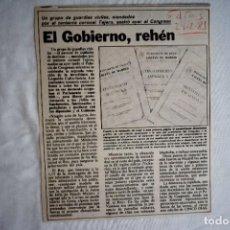 Coleccionismo de Periódico El País: EL PAÍS Y CINCO DÍAS: 23-F, ETA, ETC.. Lote 243063895