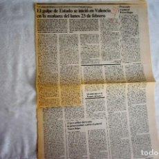 Coleccionismo de Periódico El País: EL PAÍS - INFORME DEL GOBIERNO SOBRE EL 23-F. Lote 243066320
