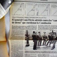 Coleccionismo de Periódico El País: EL PAÍS - 23-F - LEY DE DIVORCIO. Lote 243066955