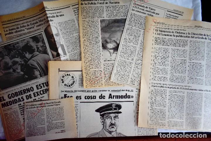 EL PAÍS /DIARIO 16 - 23 F- MARZO / ABRIL 1981 (Coleccionismo - Revistas y Periódicos Modernos (a partir de 1.940) - Periódico El Páis)
