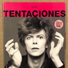 Coleccionismo de Periódico El País: EL PAÍS TENTACIONES N° 8 (2016). DAVID BOWIE, ADELE, RYAN GOSLING, STEVE JOBS,.... Lote 245079155