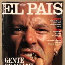 Coleccionismo de Periódico El País: EL PAÍS SEMANAL N° 55 (1992). MICKEY ROURKE, WARHOL, HARING, GRACE JONES, MAPPLETHORPE,.... Lote 245083315