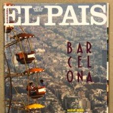 Coleccionismo de Periódico El País: EL PAÍS SEMANAL N° 68 (1992). BONO U2, BARCELONA, ANNIE LEIBOVITZ,.... Lote 245083985