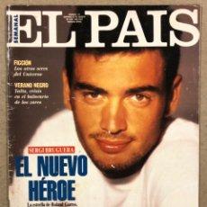 Coleccionismo de Periódico El País: EL PAÍS SEMANAL N° 131 (1993). SERGI BRUGUERA, LOS SECRETOS, JOSÉ LUIS CUERDA,.... Lote 245086350