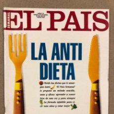 Coleccionismo de Periódico El País: EL PAÍS SEMANAL N° 136 (1993). POSTER PARQUE JURÁSICO, IGGY POP, JORDU SAVALL,.... Lote 245086930