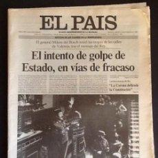 Collezionismo di Periódico El País: PERIODICO EL PAIS. 24 DE FEBRERO DE 1981. - 23F -. ENVIO NCLUIDO.. Lote 251386105