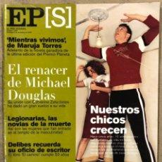 Collezionismo di Periódico El País: EL PAÍS SEMANAL N° 1258 (2000). MICHAEL DOUGLAS, CHAVELA VARGAS, MIGUEL DELIBES,.... Lote 251838815