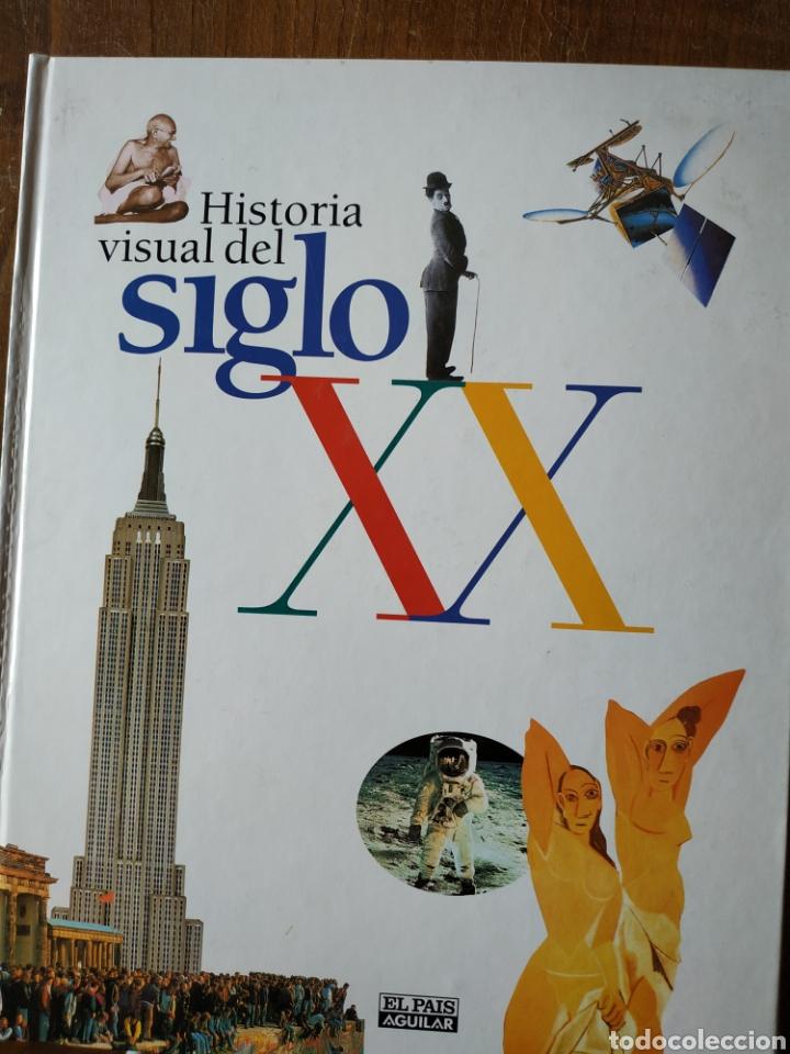 HISTORIA VISUAL SIGLO XX. EL PAÍS (Coleccionismo - Revistas y Periódicos Modernos (a partir de 1.940) - Periódico El Páis)