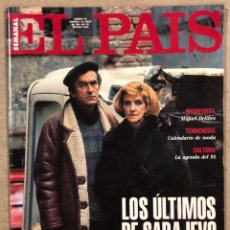 Collectionnisme de Journal El País: EL PAÍS SEMANAL N° 150 (1994). MIGUEL DELIBES, SARAJEVO, CIUDAD REAL,.... Lote 252045710