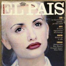 Coleccionismo de Periódico El País: EL PAÍS SEMANAL N° 213 (1995). PENÉLOPE CRUZ, GARY OLDMAN, ELIZABETH HURLEY,... Lote 254415775