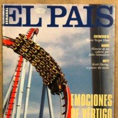 Coleccionismo de Periódico El País: EL PAÍS SEMANAL N° 218 (1995). NACE PORT AVENTURA, KEITH HARING, KIKO VEVENO, JUAN PERRO, BERLANGA,. Lote 254421825