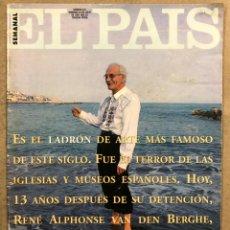 Coleccionismo de Periódico El País: EL PAÍS SEMANAL N° 231 (1995). ERIK EL BELGA, VAN MORRISON, PETER BERLING, RUIZ GALLARDÓN,.... Lote 254426580