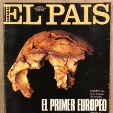 Coleccionismo de Periódico El País: EL PAÍS SEMANAL N° 236 (1995). NICOLAS HAYEK, NEIL YOUNG PEARL JAM, KETAMA, COLOMBIA,.... Lote 254427845