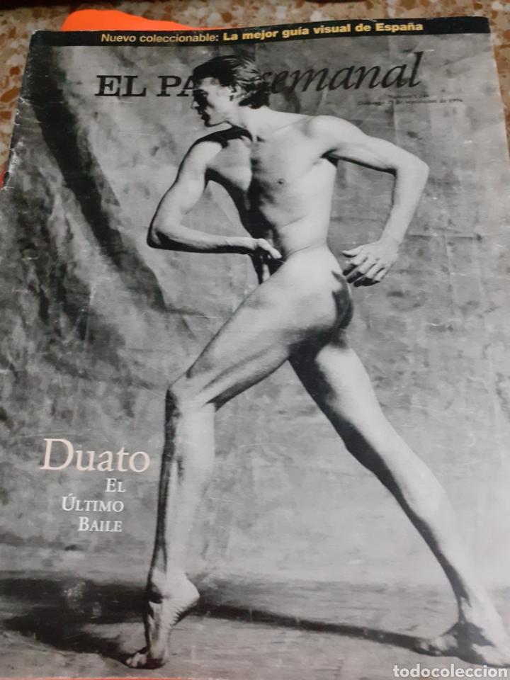 Coleccionismo de Periódico El País: Revista 9/96 DUATO GRAN RTJE.JANE BIRKIN.ROSANA, EMILIO BUALE, SADAICHI GASSAN, BELLEZA - Foto 4 - 255567750