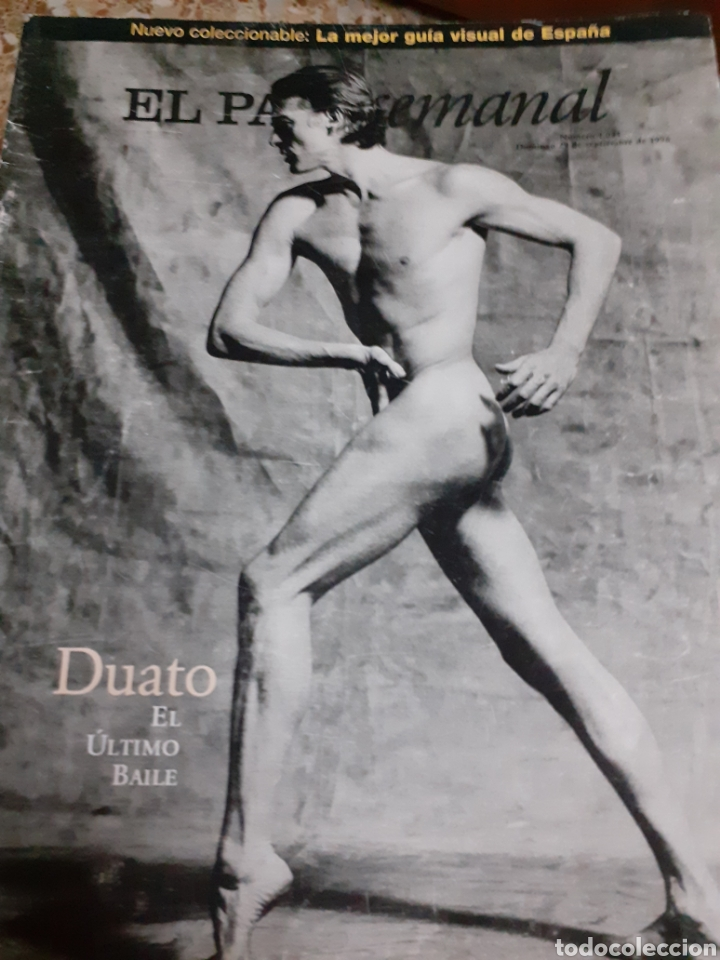Coleccionismo de Periódico El País: Revista 9/96 DUATO GRAN RTJE.JANE BIRKIN.ROSANA, EMILIO BUALE, SADAICHI GASSAN, BELLEZA - Foto 5 - 255567750