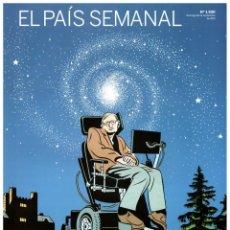 Coleccionismo de Periódico El País: EL PAIS SEMANAL.1930. STEPHEN HAWKING. JULIAN ASSANGE. SHIRIN EBADI. COLINAS DE BAMENDA. MARTÍN MOST. Lote 261852575