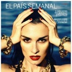 Coleccionismo de Periódico El País: EL PAIS SEMANAL.1925. PAZ VEGA. WALLY LÓPEZ. IÑAKI ÁBALOS. MARTIN LUTHER KING. BERTO ROMERO. Lote 261854995