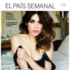 Coleccionismo de Periódico El País: EL PAIS SEMANAL.1919. ADRIANA UGARTE. JOSÉ MARÍA MARAVALL. AMIT SOOD. WEARBEAR.. Lote 261856870
