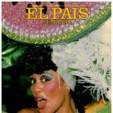 Coleccionismo de Periódico El País: EL PAIS SEMANAL.615. COSTA GAVRAS. MANUEL VICENT. AL STEWART. EL CHAFARDERO INDOMABLE. ANTONIO GALA. Lote 261896215