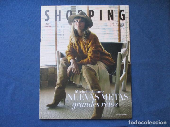 SHOPPING & STYLE / EL PAÍS / ESPECIAL NIÑOS / OCTUBRE 2018 / MICHELLE JENNER (Coleccionismo - Revistas y Periódicos Modernos (a partir de 1.940) - Periódico El Páis)