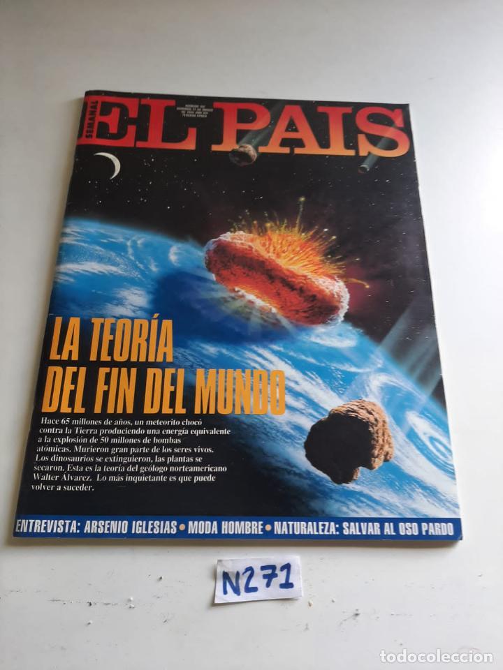 EL PAÍS (Coleccionismo - Revistas y Periódicos Modernos (a partir de 1.940) - Periódico El Páis)