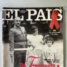 Coleccionismo de Periódico El País: EL PAÍS SEMANAL. DE TRANQUILO A FRANCO FRANCO. NÚM 93. NOVIEMBRE 1992.. Lote 266913774