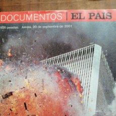Coleccionismo de Periódico El País: LA PRIMERA GUERRA DEL SIGLO XXI. DOCUMENTOS EL PAÍS. JUEVES 20 09 2001. Lote 267775109