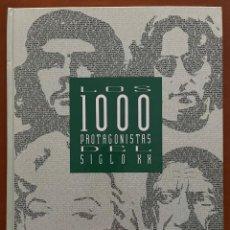 Coleccionismo de Periódico El País: LOS 1000 PROTAGONISTAS DEL SIGLO XX. PRIMER CAPITULO. Lote 268026109