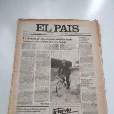 Coleccionismo de Periódico El País: EL PAÍS. MIÉRCOLES 18 DE FEBRERO DE 1981.. Lote 270173433